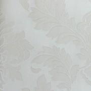 Papel de Parede Italiano Vita B1050501 Adamascado Off White