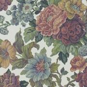 Papel de Parede Rosas estampa tipo tapete tecido grosso textura