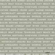 Papel de Parede náutico surf casa de praia mar