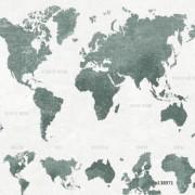 Papel de Parede mapa mundi cinza continentes mapa geográfico