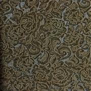 Papel de Parede luxo Roberto Cavalli Rosas em relevo e textura