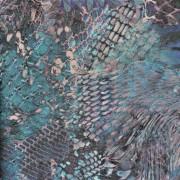 Papel de Parede Roberto Cavalli pele cobra textura e relevo