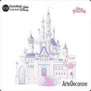 RoomMates Adesivo Parede  Castelo Cinderela Princesas RMK1546