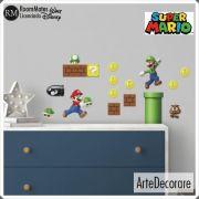 RoomMates Adesivo Parede  Super Mario Bros RMK2351