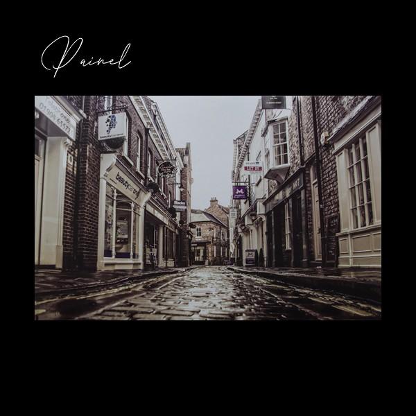 Painel Foto Antiga de Cidade Classic Designs M17305