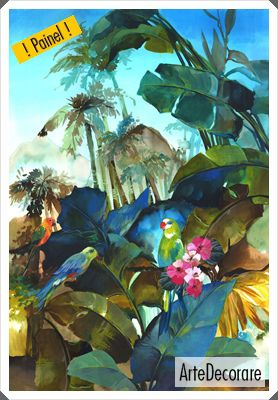 Painel de Parede Rainbow Itaca 22690