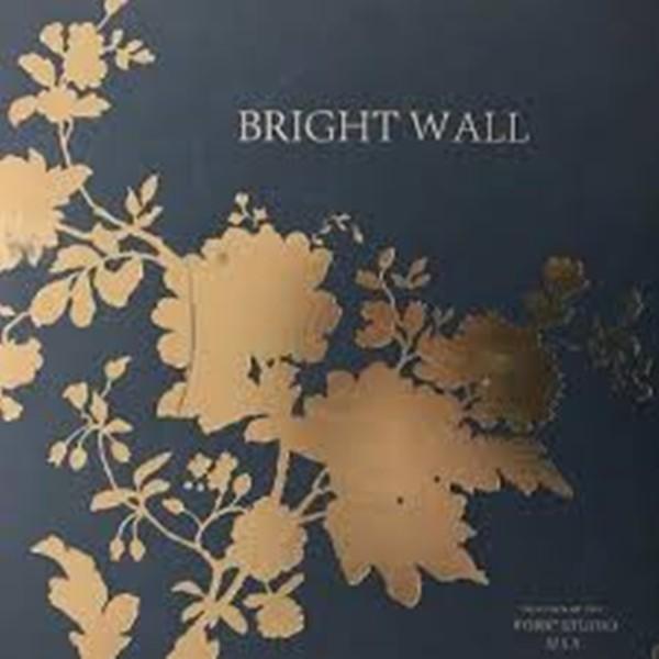 Papel de Parede Bright Wall 660701 estilo Indiano Dourado