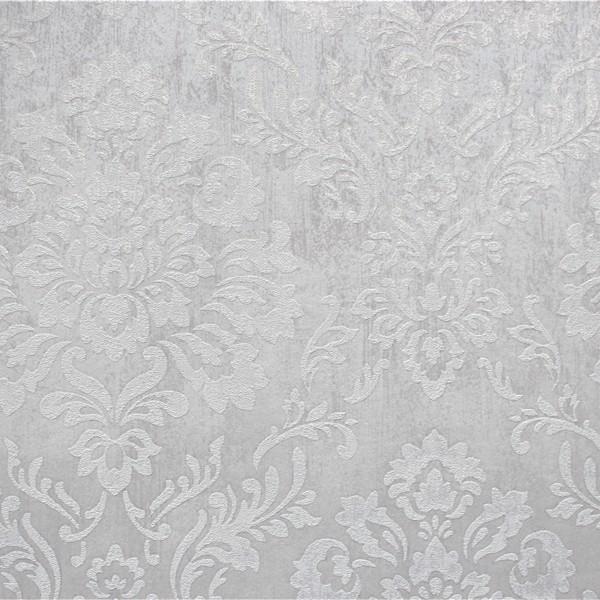 Papel de Parede Classic DesignS H2880101 Cinza  Adamascado