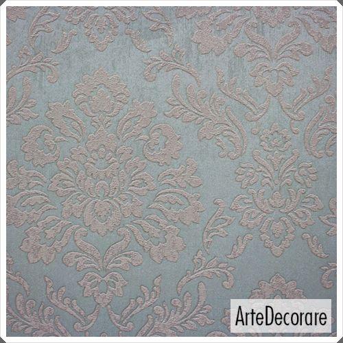 Papel de Parede Classic DesignS H2880106 Cinza  Adamascado