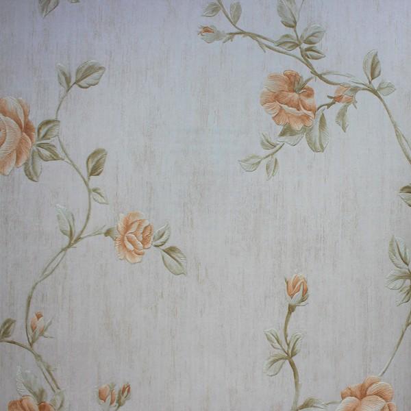 Papel de Parede Classic DesignS H2890701 Bege Floral