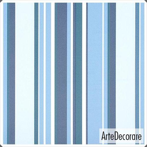 Papel de Parede Listras Classic Stripes CT889024 Azul