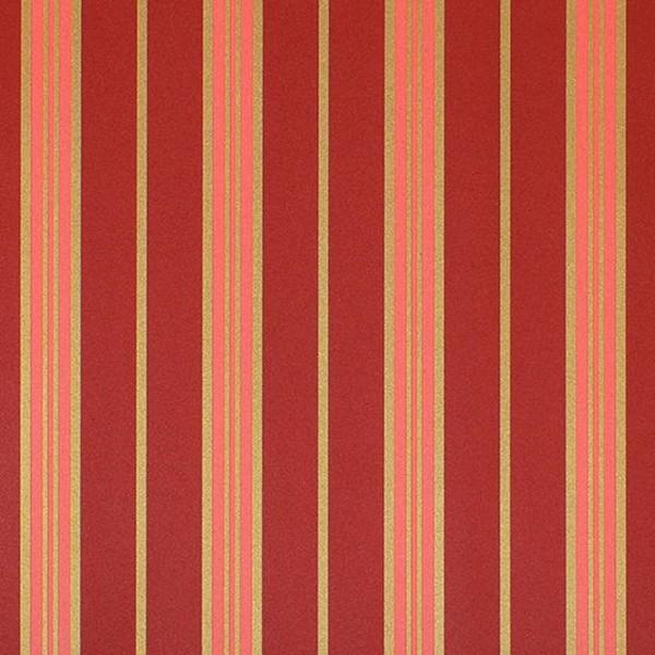 Papel de Parede Listras Classic Stripes CT889116 Vermelho