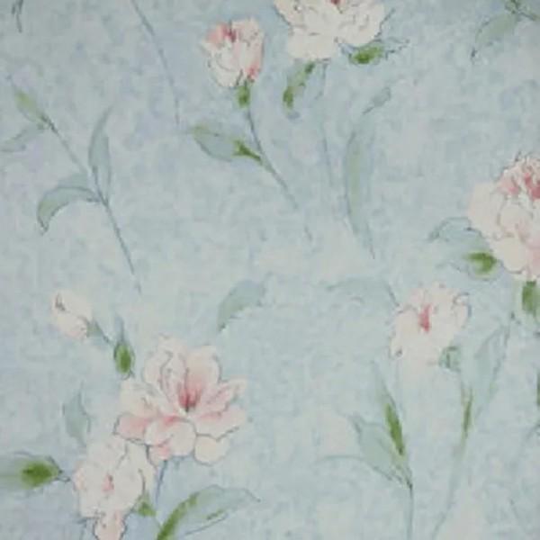 Papel de Parede Fragrant Roses FA811025 Floral Azul