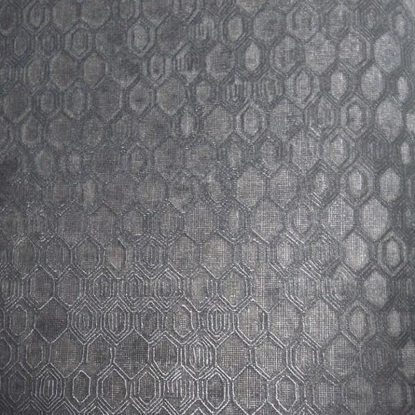 Papel de Parede Geométrico Gioia2 44865 Preto