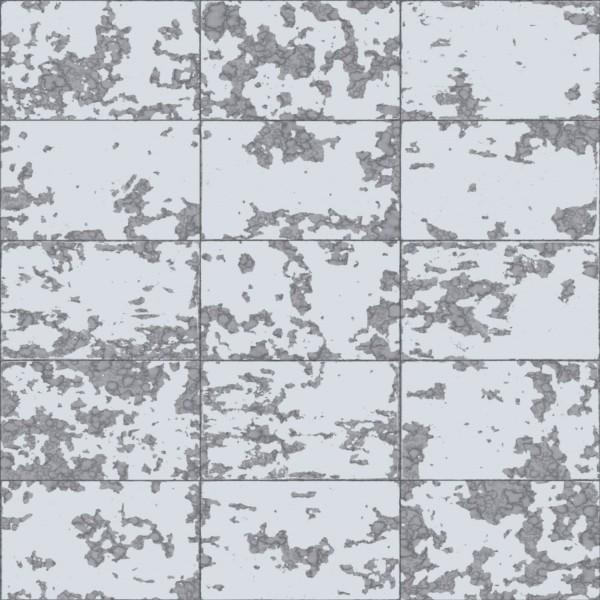 Papel de Parede Hexagone L62609 Geométrico Prata