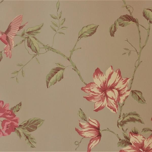 Papel de Parede Importado English Florals G34306 Floral Bege