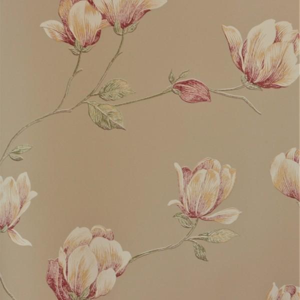 Papel de Parede Importado English Florals G34324 Floral Bege