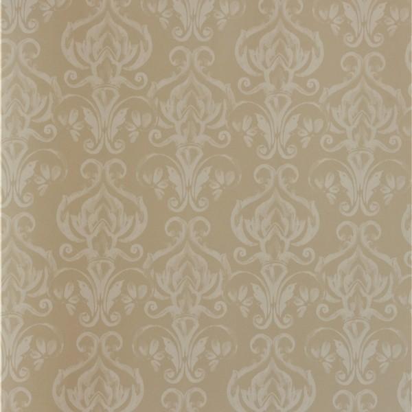 Papel de Parede Importado English Florals G67216 Adamascado Nude