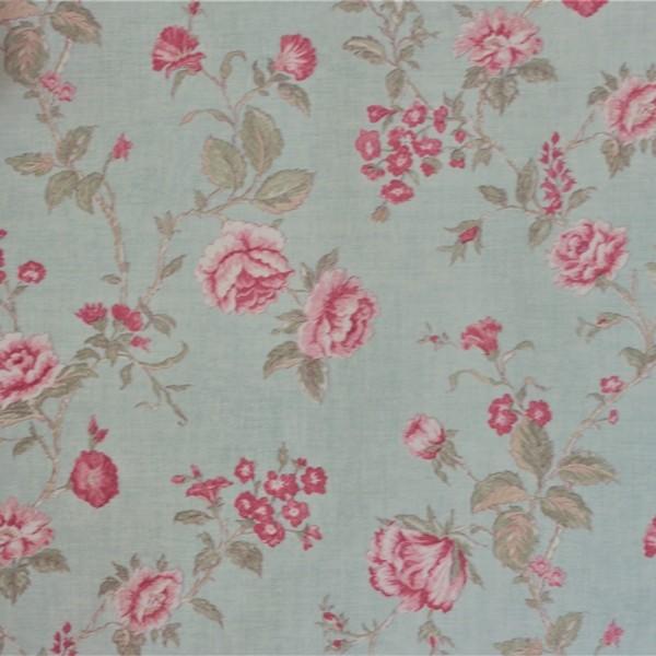 Papel de Parede Importado English Florals G67296 Floral Rosa