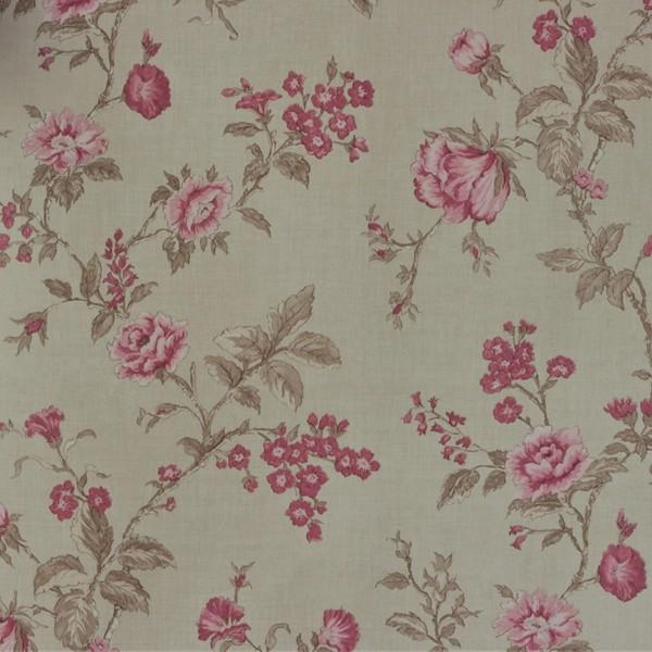 Papel de Parede Importado English Florals G67298 Floral Rosa