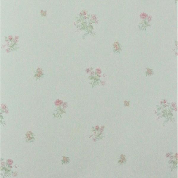 Papel de Parede Importado English Florals G67309 Rosas