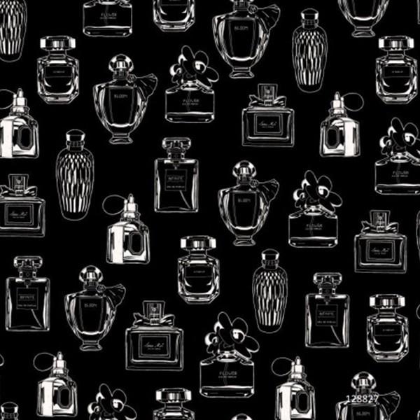 Papel de Parede Infantil coleção Paris vidros de perfume #Fab 128827