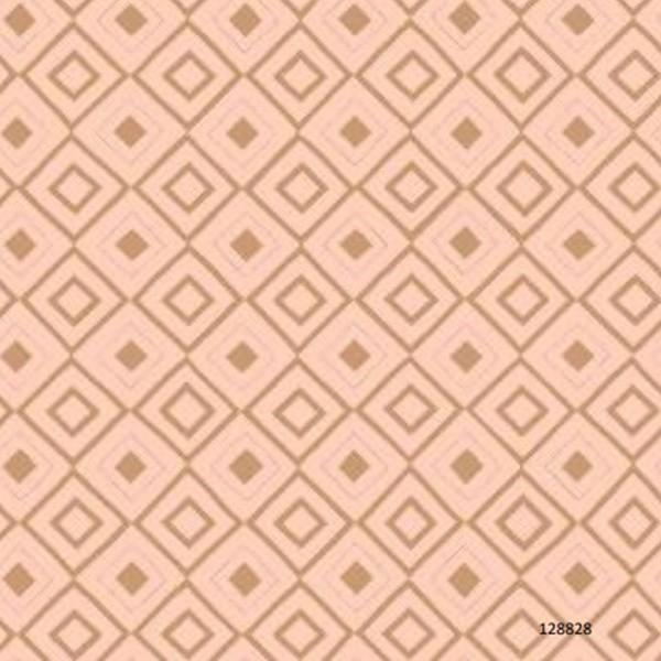 Papel de Parede Infantil quarto menina Rosa Geométrico