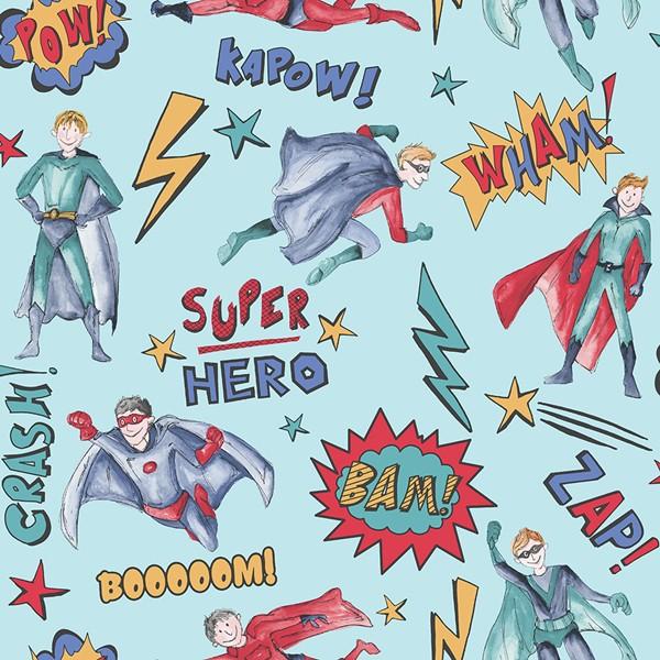 Papel de Parede FUN2 menino heróis quadrinhos cartoon