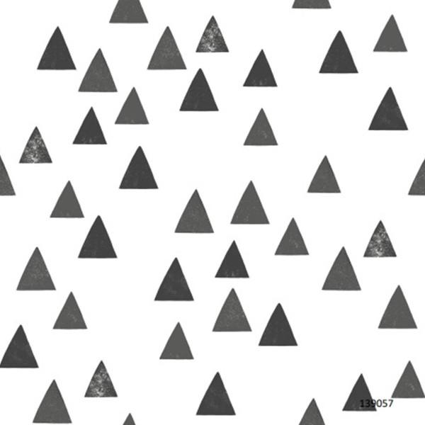 Papel de Parede quarto Infantil LETS P Geométrico triângulos