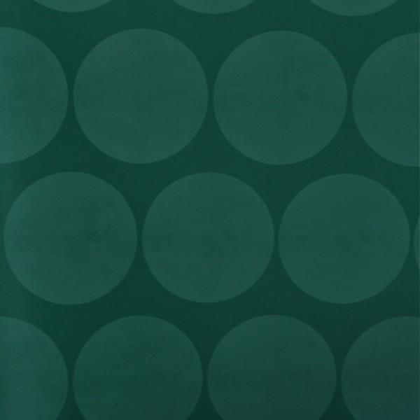 Papel de Parede Infantil bolas círculos grande verde nude cinza