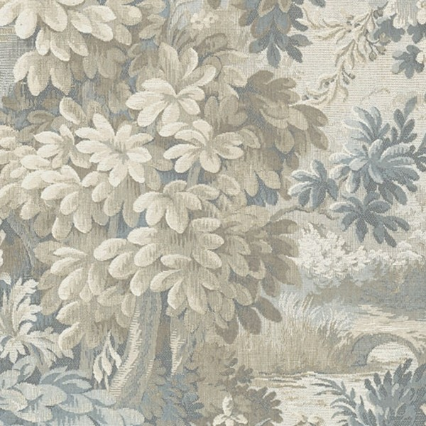 Papel de Parede árvores estampa tipo tapete textura tecido