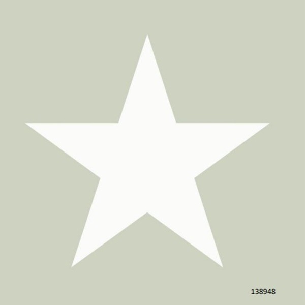 Papel de Parede quarto infantil estrela grande cinza claro