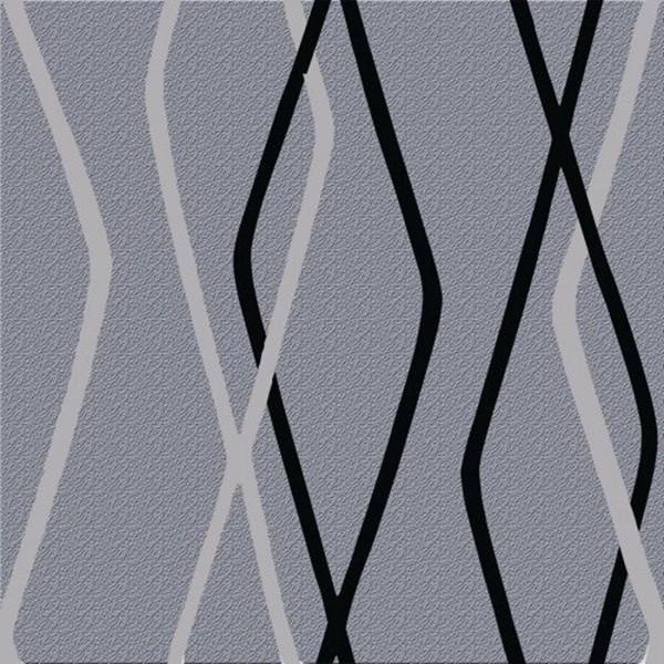 Papel de Parede quarto sala 3d losangos preto cinza geométrico