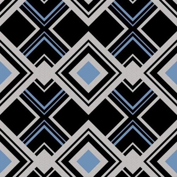 Papel de Parede 3d quarto sala geométrico preto e azul
