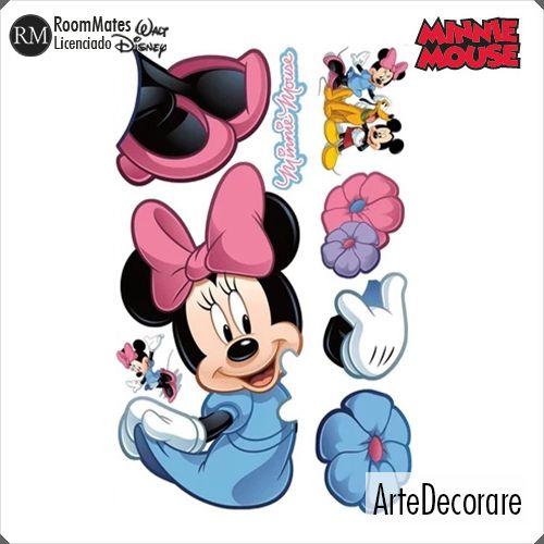 RoomMates Adesivo Parede  Minnie RMK1509