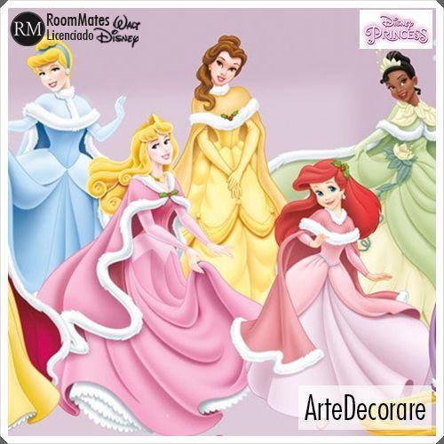 RoomMates  Princesas RMK1844
