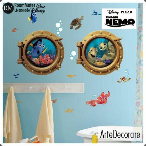 RoomMates Procurando Nemo RMK2060