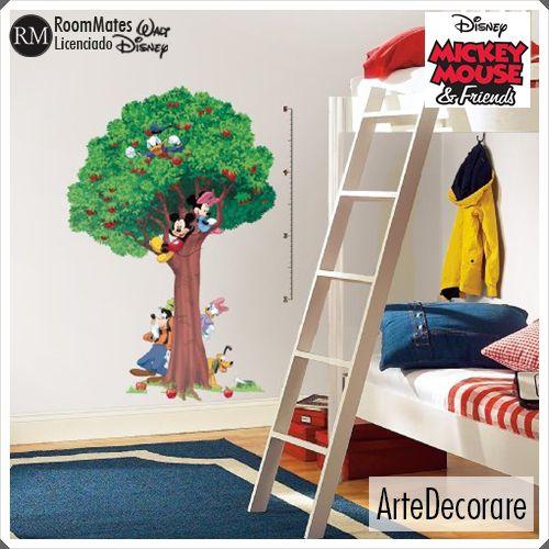 RoomMates Adesivo Parede Turma do Mickey RMK1514