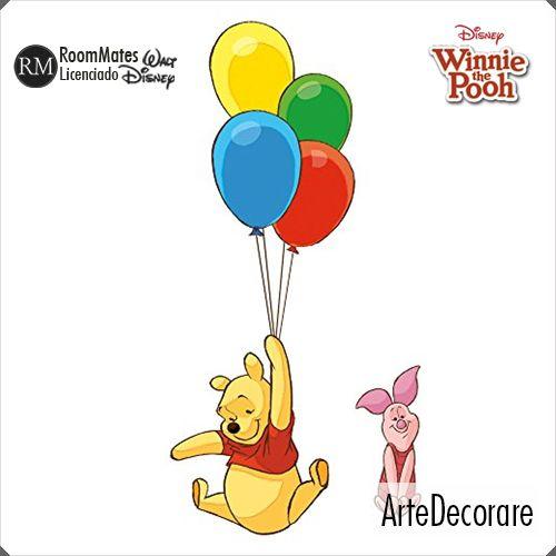 RoomMates  Ursinho Pooh e Amigos RMK1499