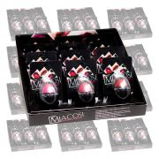 10 Kits Batom Fashion Lip Balm Macosi 120 unidades