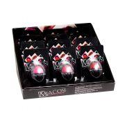 Kit Batom Fashion Lip Balm Macosi 12 unidades