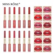 Lipgloss e Delineador 2 em 1 7102-002Z Miss Rose 7ml