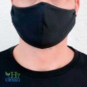 Máscara Reutilizável Tecido Algodão e Poliéster H7 Clean