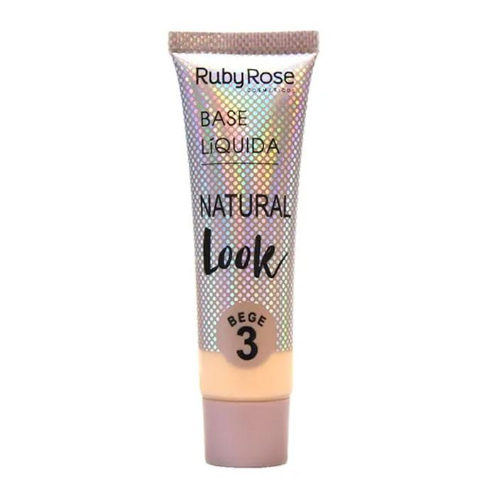 Base Líquida Natural Look HB 8051 Ruby Rose 29ml