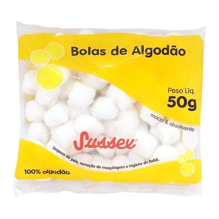 Bolas de Algodão Sussex 50g