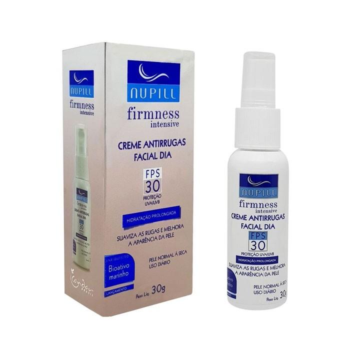 Creme Antirrugas Facial Dia FPS 30 Nupill 30g