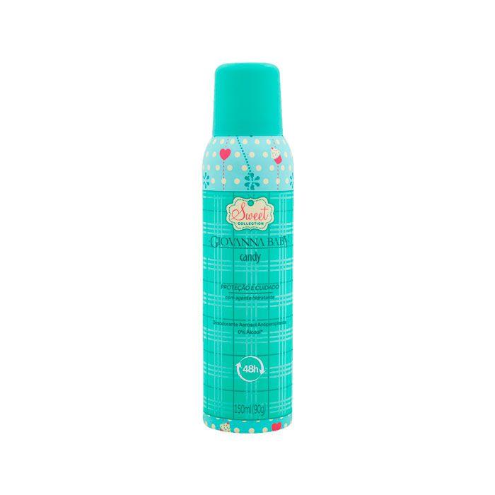 Desodorante Aerosol Giovanna Baby Candy 150ml