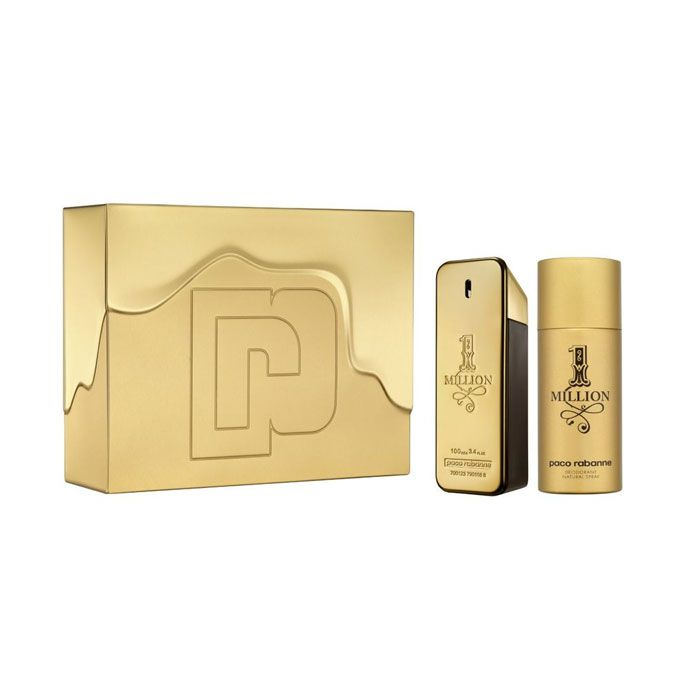 Kit Million Eau de Toilette Paco Rabanne Perfume Masculino 100ml e Desodorante 80ml
