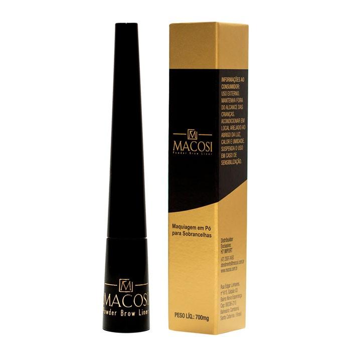 Maquiagem Corretora para Sobrancelhas c/ Fibras de Queratina Macosi 7g