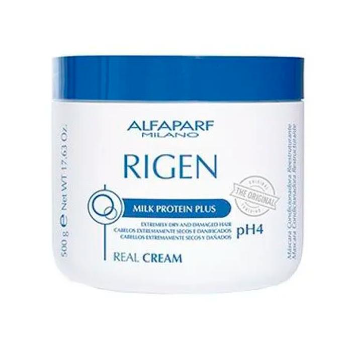 Máscara Capilar Rigen Milk Protein Plus Real Alfaparf 500g